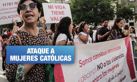 Grupo conservador quiere 'disolver' a organización católica que defiende a las mujeres