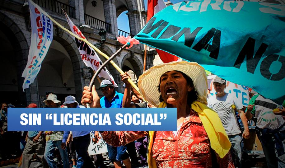 Tía María: Anuncian huelga indefinida de darse luz verde al proyecto