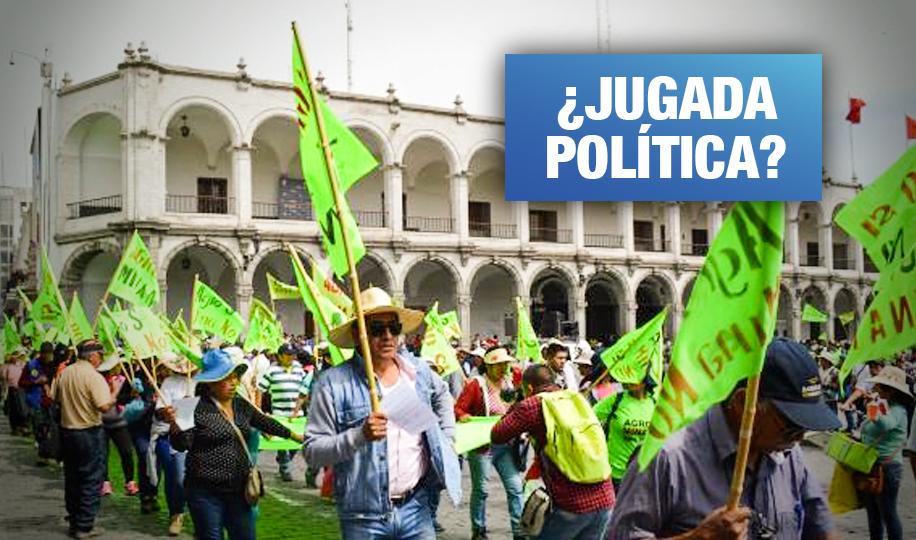 Tía María: Juicio a 15 dirigentes en tensa expectativa por licencia a proyecto minero