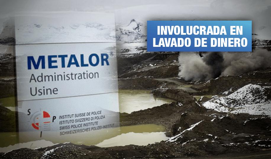 Metalor: Empresa señalada de financiar minería ilegal cesa operaciones en Perú