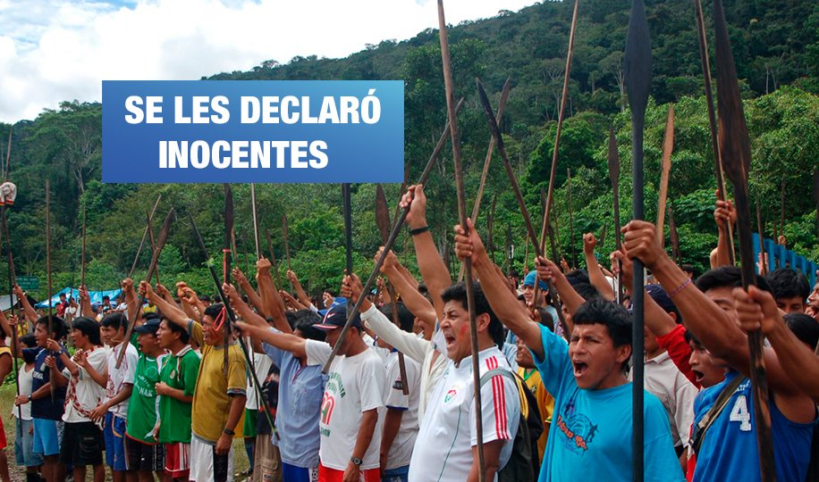 Baguazo: 53 comuneros absueltos podrían volver a ser enjuiciados