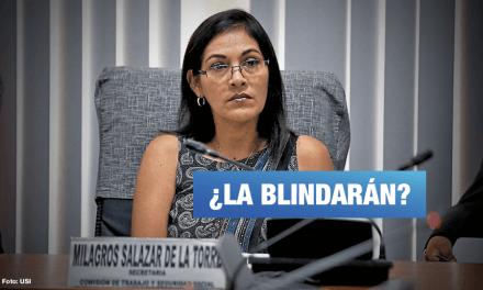 Milagros Salazar: solicitarán investigarla por contratación de su sobrino