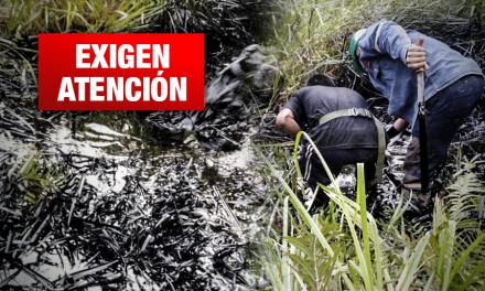 Derrame de petróleo: Comunidad indígena se queda sin agua por contaminación