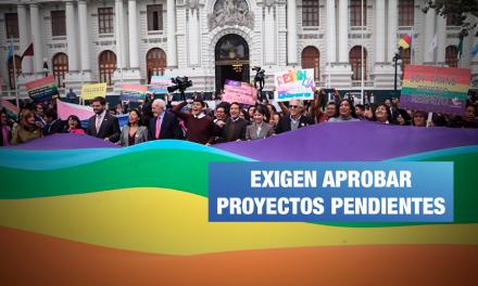 ¡Histórico!: Colectivo LGBTI presenta «Marcha del Orgullo» en el Congreso