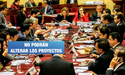 Comisión Bartra empezará a debatir mañana los 6 proyectos de reforma política