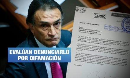 Nuevo Perú envió carta notarial a Becerril por vincularlos con terrorismo