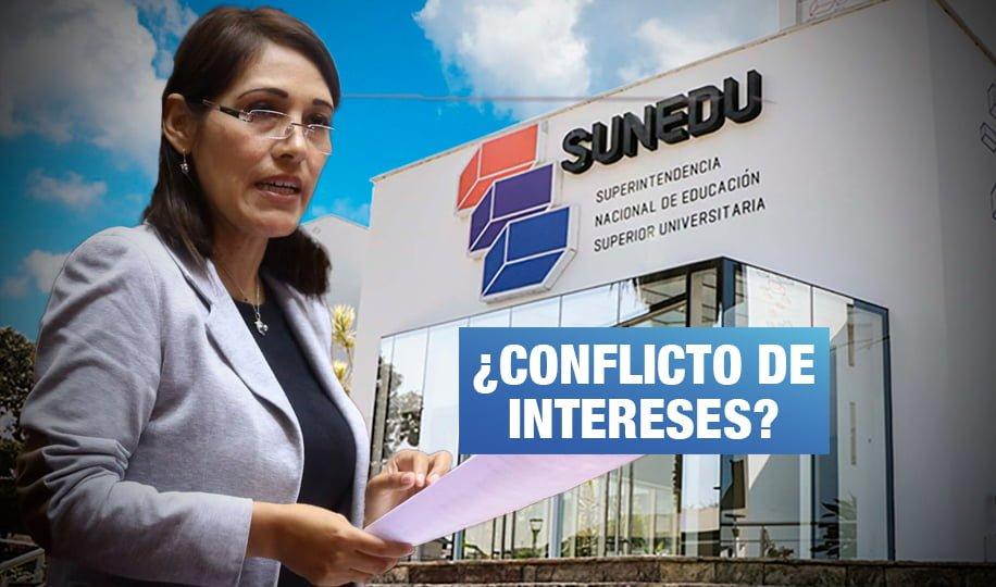Milagros Salazar solicitó investigar a Sunedu y enseña en universidad privada