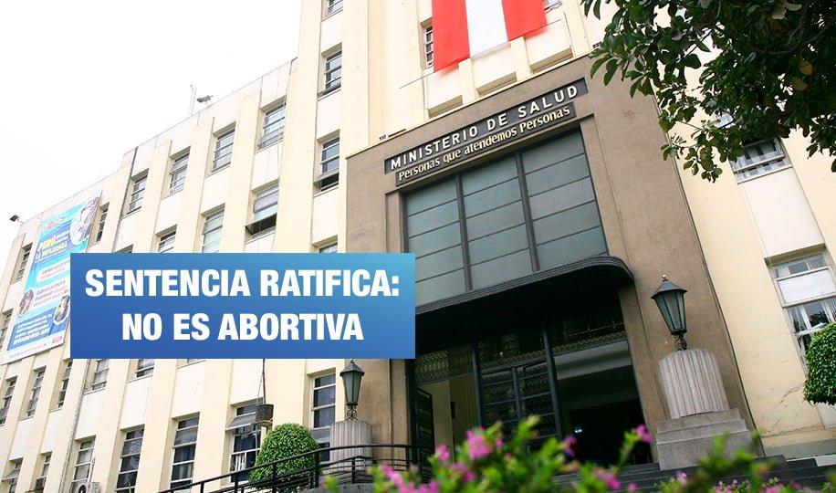 Poder Judicial ordena distribución gratuita de la píldora del día siguiente