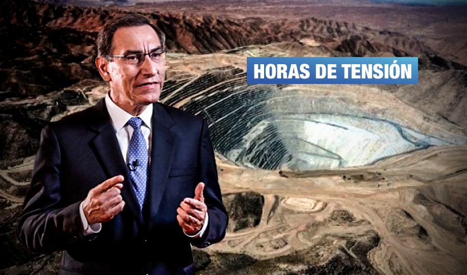 Arequipa: «Conversaciones sobre Tía María serán solo con el presidente Vizcarra»