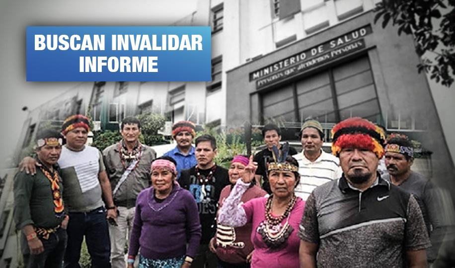 Las maniobras del Ministerio de Salud para retener resultados de afectados por metales en Loreto