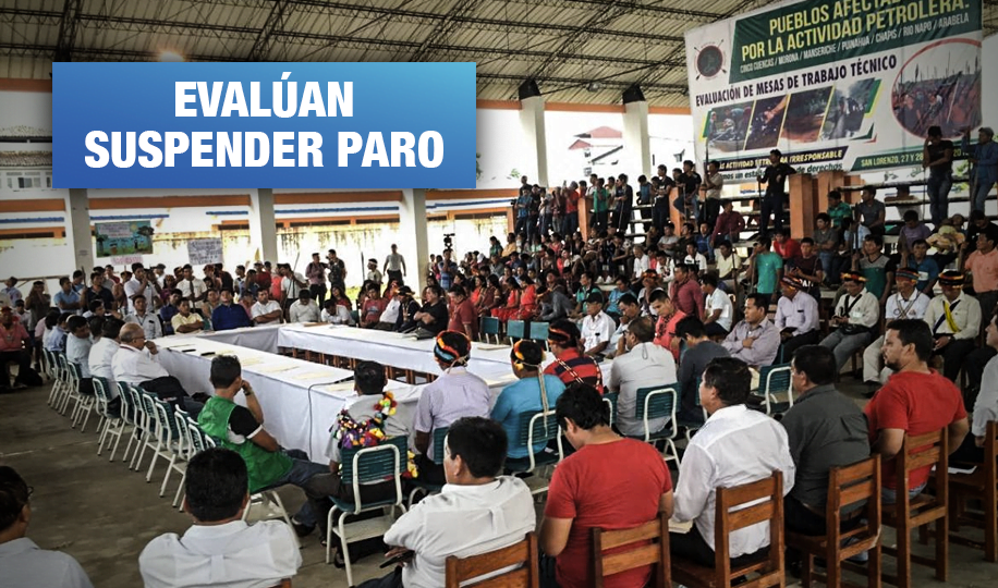 Loreto: Acuerdan fecha para diálogo con el Ejecutivo en Datem del Marañón
