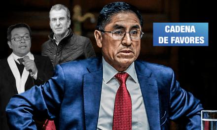 César Hinostroza aparece en nuevos audios que vinculan a juez con empresario
