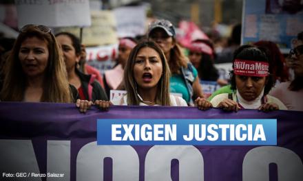 Convocan a plantón respaldando a Arlette Contreras durante lectura de sentencia contra Adriano Pozo