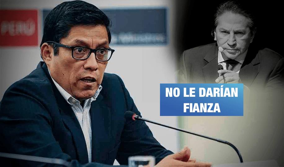 Ministro de Justicia: Extradición de Toledo podría tardar hasta un año