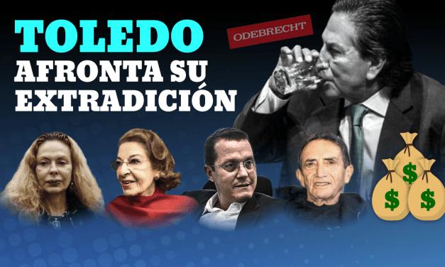 [GRÁFICA] La extradición de Alejandro Toledo