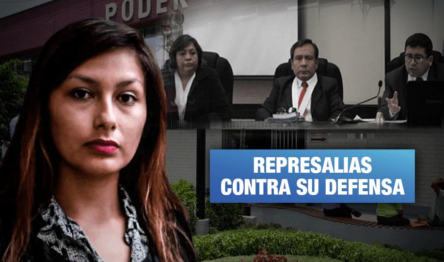 Arlette Contreras: Jueces multan a su abogada y podrían retirarla del caso
