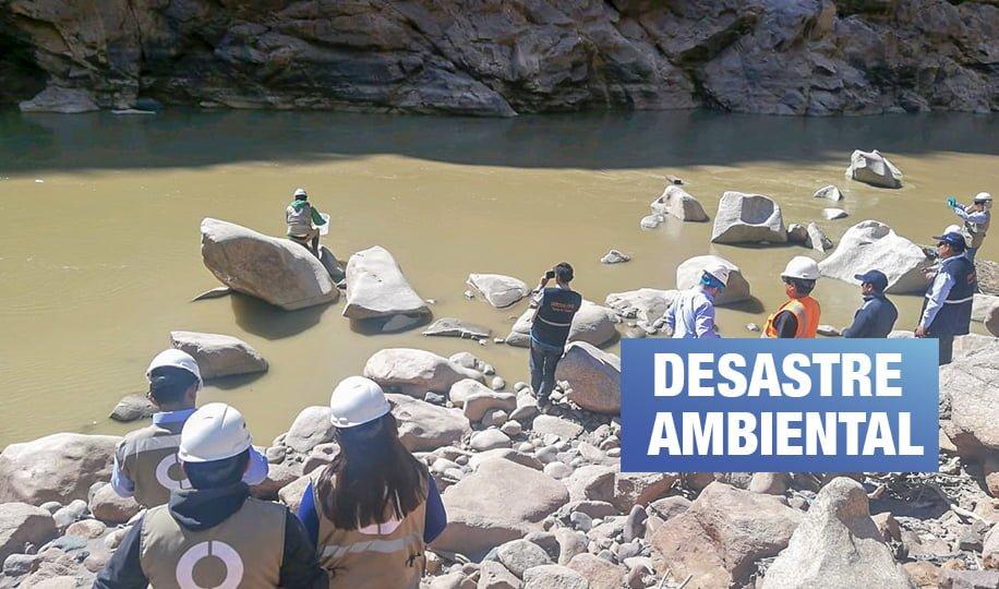 Doe Run: Relaves mineros contaminan río Mantaro y distrito de Huancavelica