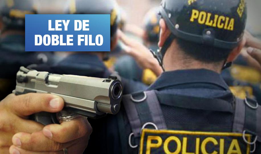 Aprueban proyecto que reduce responsabilidad de policías por uso de armas