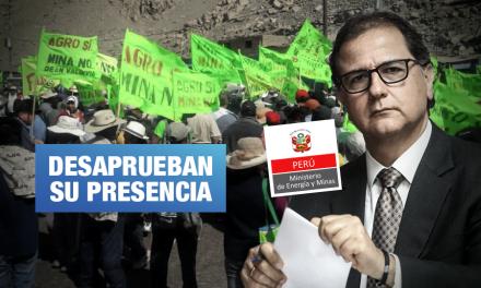 Tía María: Ministro de Energía visita Arequipa, pero es rechazado por ciudadanos