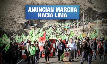 Tía María: Paro indefinido y huelga de hambre iniciarán el 5 de agosto en Arequipa