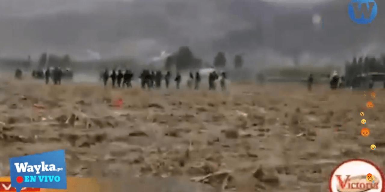 [EN VIVO] Policía reprime protestas contra Tía María en Arequipa