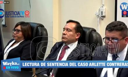 [EN VIVO] Lectura de sentencia del caso Arlette Contreras