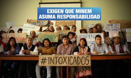 Afectados por metales tóxicos realizarán plantón frente a Ministerio de Energía y Minas
