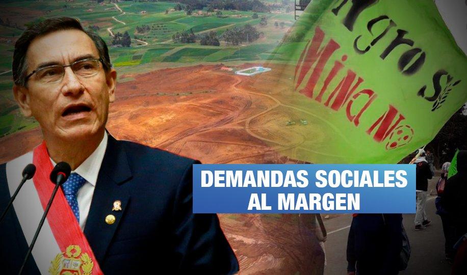Mensaje presidencial: Tía María estuvo ausente y da luz verde al aeropuerto de Chinchero