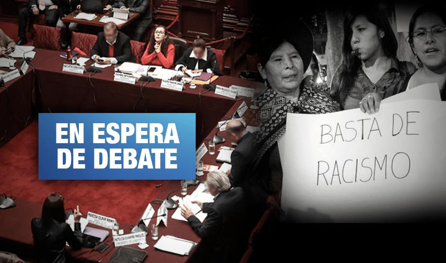 Contra el racismo: Proyectos de ley pendientes de aprobación en el Congreso