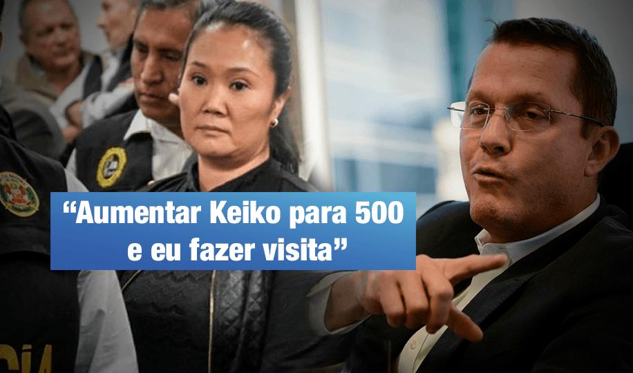 Barata entrega prueba de aporte de $500 mil a campaña de Keiko