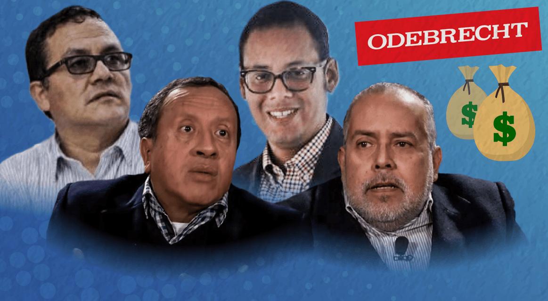 [GRÁFICA] Los 'periodistas' que habrían cobrado dinero de Odebrecht