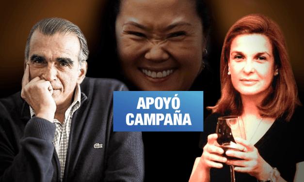 Hermana de Pedro Olaechea fue interrogada por aportar a la campaña de Keiko Fujimori