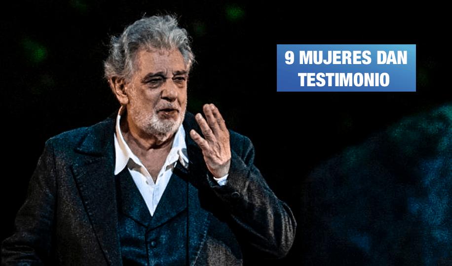 Tenor Plácido Domingo acusado de múltiples casos de acoso sexual