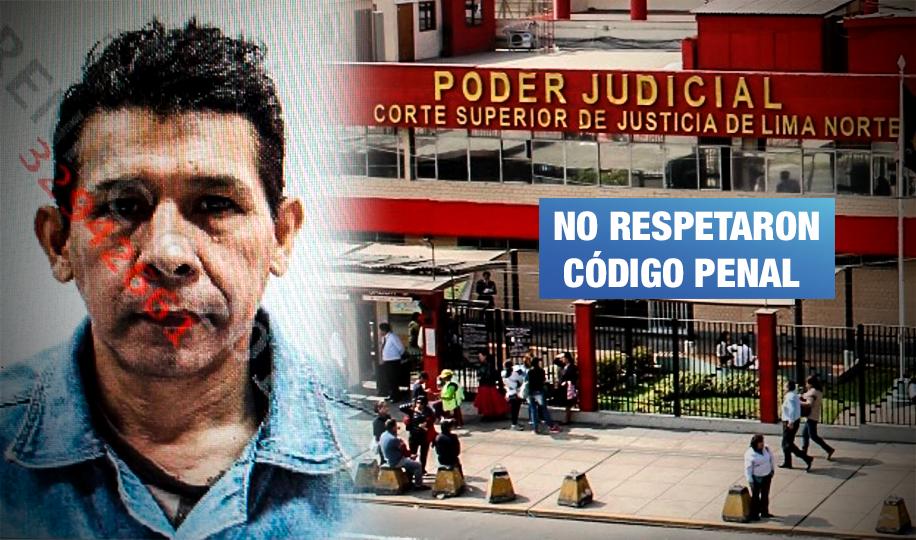 Corte de Lima Norte dictó solo 6 años de prisión a violador de anciana