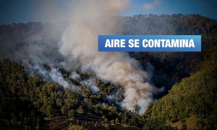 Incendio forestal en Brasil y Bolivia estaría afectando provincia en Madre de Dios