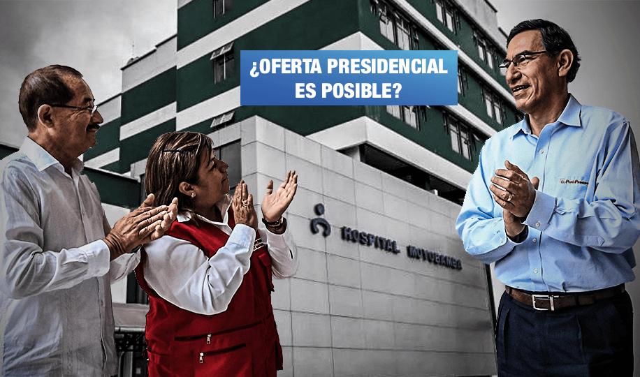 Vizcarra promete inaugurar un hospital por mes en San Martín