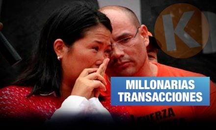 Lavado de activos: Joaquín Ramírez y Keiko liderarían organización criminal