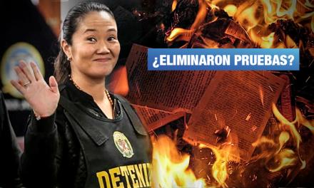 Exdirigente de Fuerza Popular confirma quema de documentos sobre aportes
