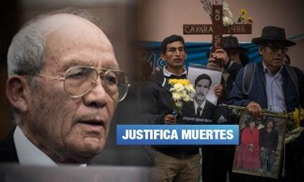 Cayara: Exgeneral Valdivia desconoce responsabilidad en masacre de 1988