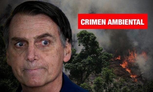 Amazonía brasileña se incendia y Bolsonaro minimiza desastre