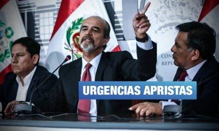"""En plena crisis, apristas presentan proyecto """"de interés nacional"""" para crear distrito Haya de la Torre"""