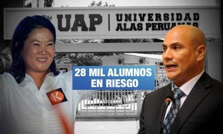 Universidad perdería licencia por presunto fraude de Joaquín Ramírez para campaña de Keiko