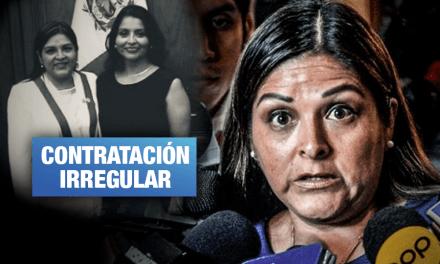 Hermana de Karina Beteta contrató con el Estado por más de S/ 50 mil