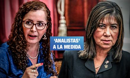Comisión Bartra propone a Martha Chávez como parte de 'Consejo consultivo' sobre adelanto de elecciones