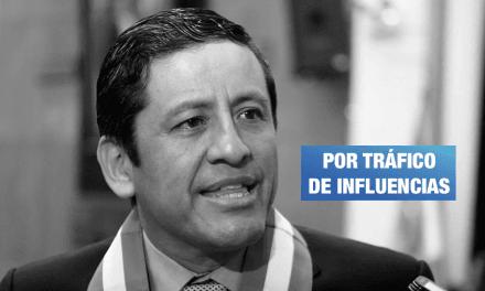 Fiscal de la Nación denuncia a Guido Aguila ante el Congreso