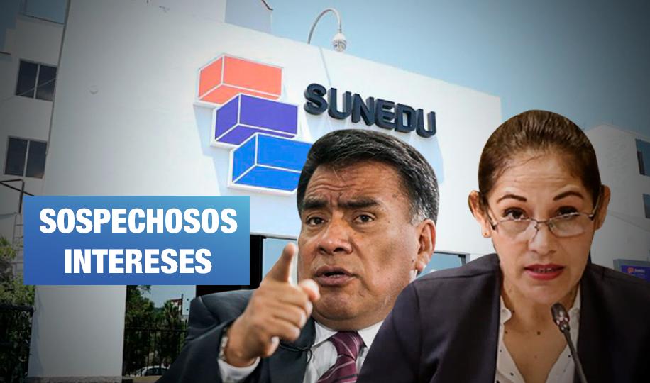 Congresistas vinculados a universidades investigarían a Sunedu
