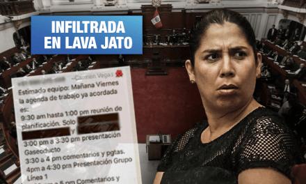 Úrsula Letona: Asesora de la congresista participó en comisión que investigó a su esposo