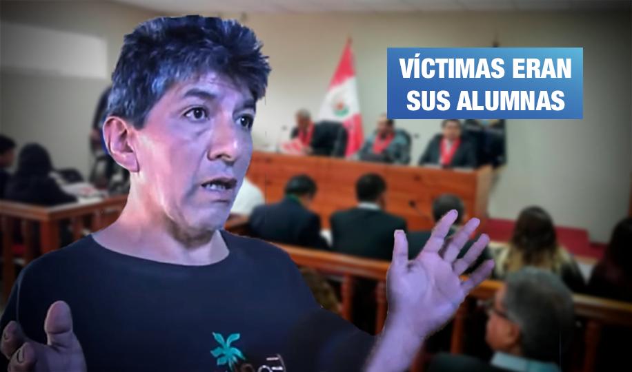 Profesor de teatro es condenado a cadena perpetua por violación  sexual