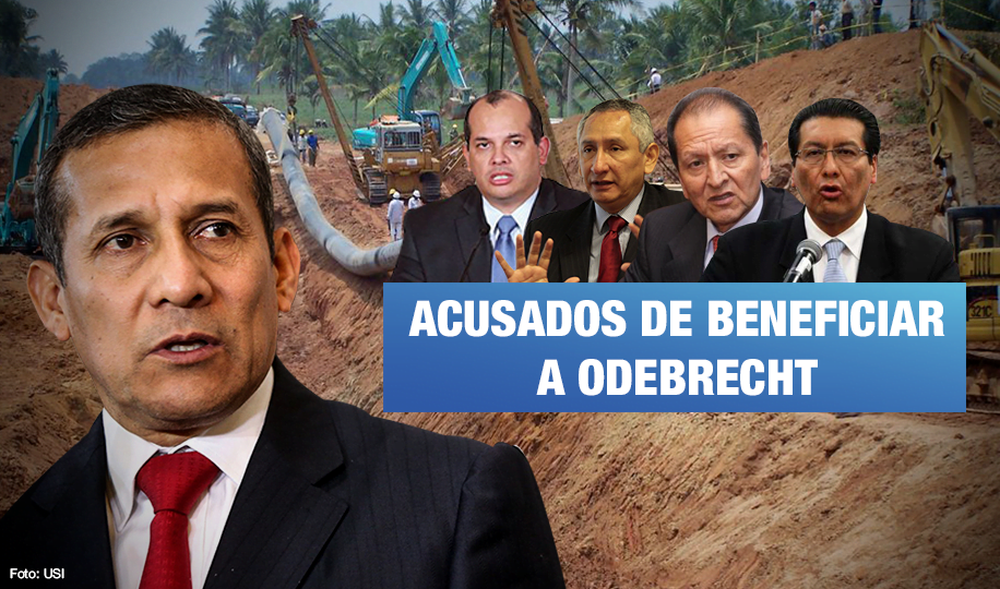 Gasoducto Sur: Cuatro exministros de Humala serían investigados