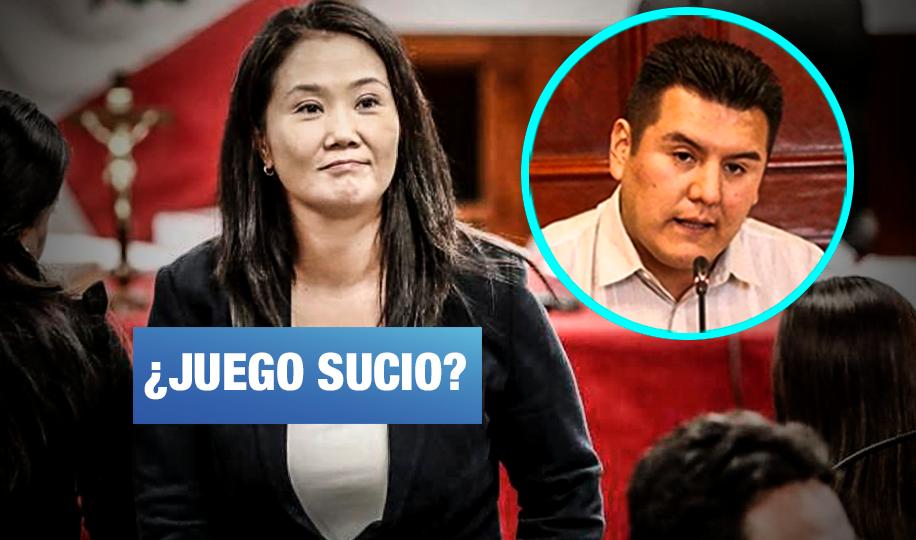 Caso Keiko: PJ designó a procurador que fue despedido del Congreso por plagio